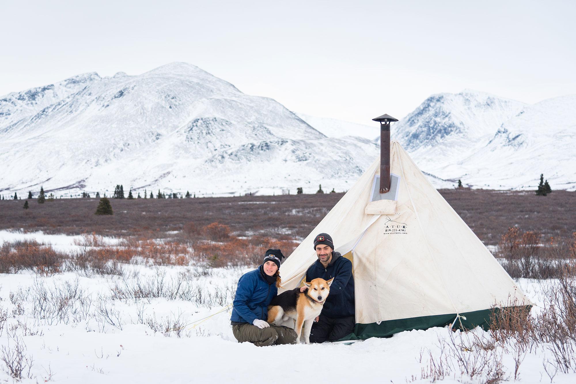Trapper tent