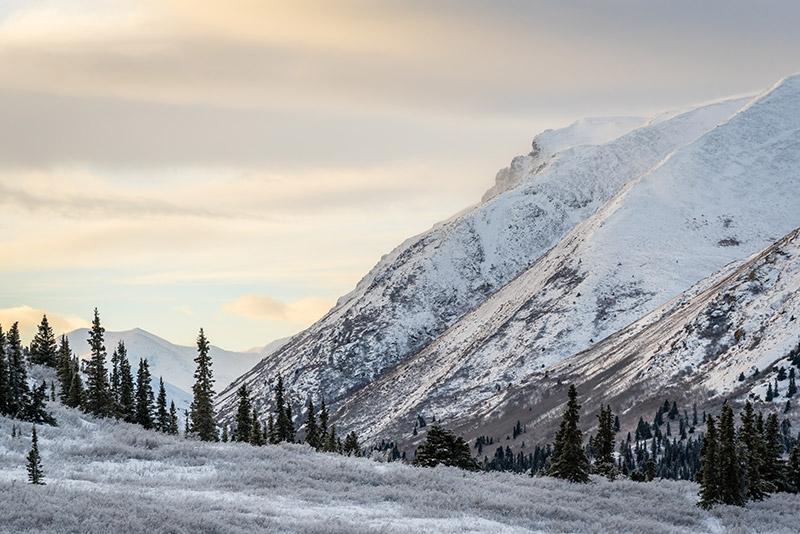 Yukon montains