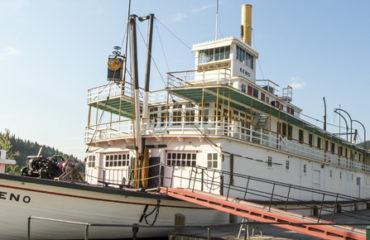 SS Keno Sternwheeler, Dawson City